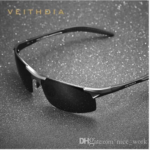 b3f7600fa4 Brand-VEITHDIA Aluminum Mens Sunglasses Sport Polarized Sun Glasses ...