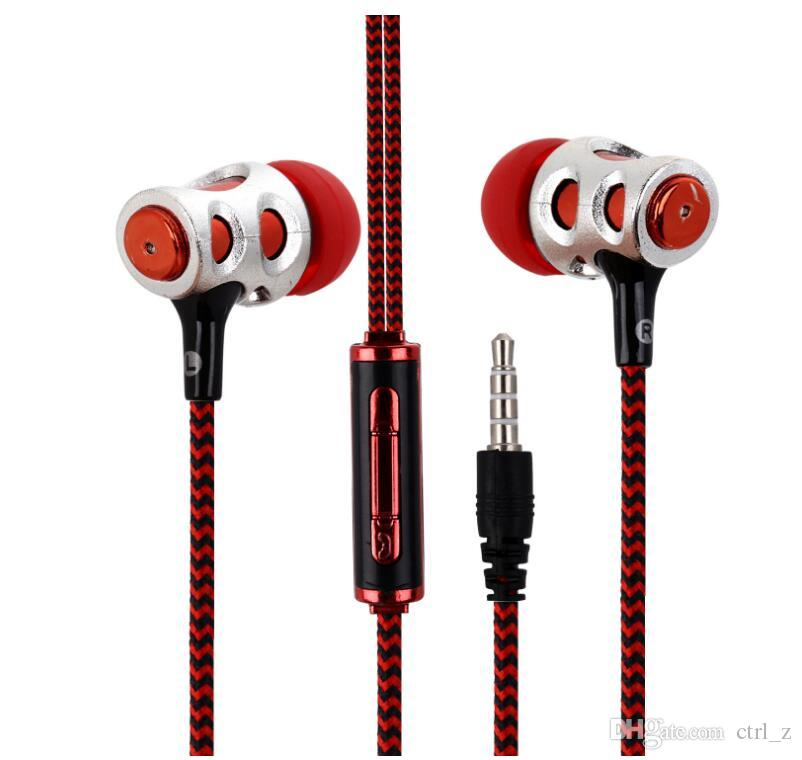 SF-A14 Stereo Music Earphone 3.5mm In Ear Mic Universal Sport for Iphone Samsung Xiaomi Android Mobile Phones Music Player A14
