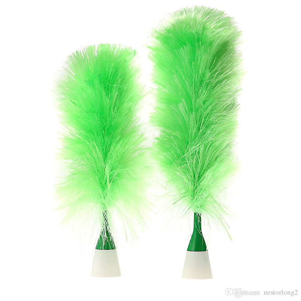 Duster nuova elettrica Set motorizzati spazzola di pulizia Conciatori piuma verde tende mobili della tastiera multi-finestra pennelli