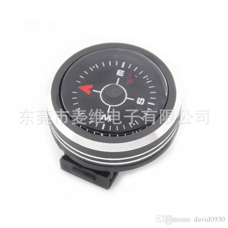 New type of compass 25mm can remove the magnetic needle of the compass and the outdoor watch belt