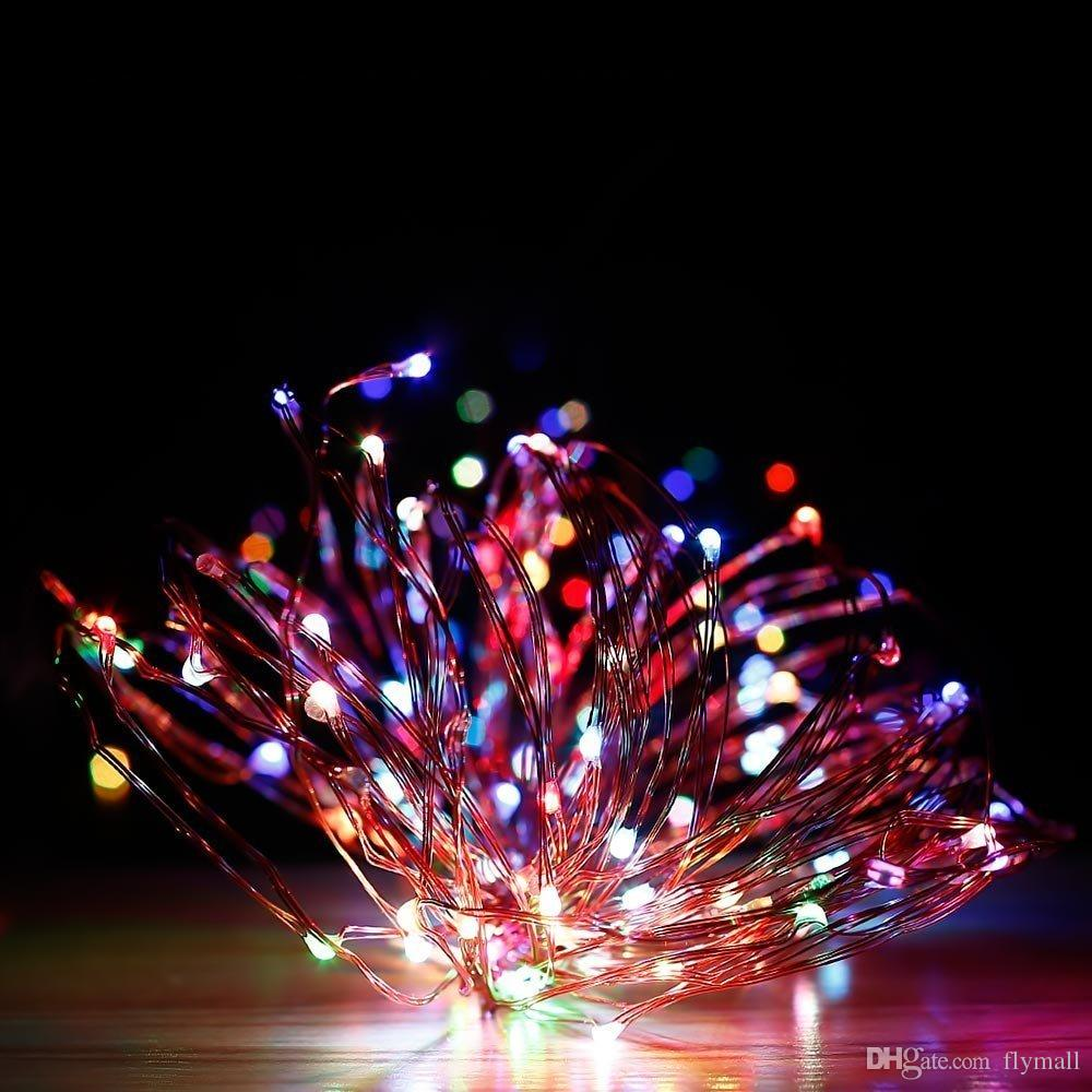 Waterproof Christmas Light 10m 30m 50m 500 LEDs Copper Wire LED String Lights with Power Adapter UK/US/EU/AU Wedding Holiday Party Lights