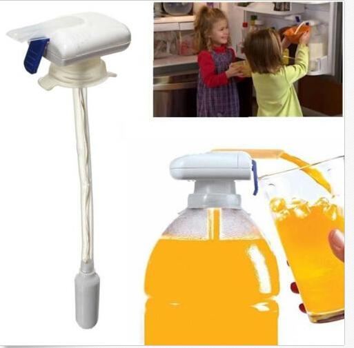 Magic Tap Electric Automatic Water & Drink Beverage Dispenser Spill Proof New