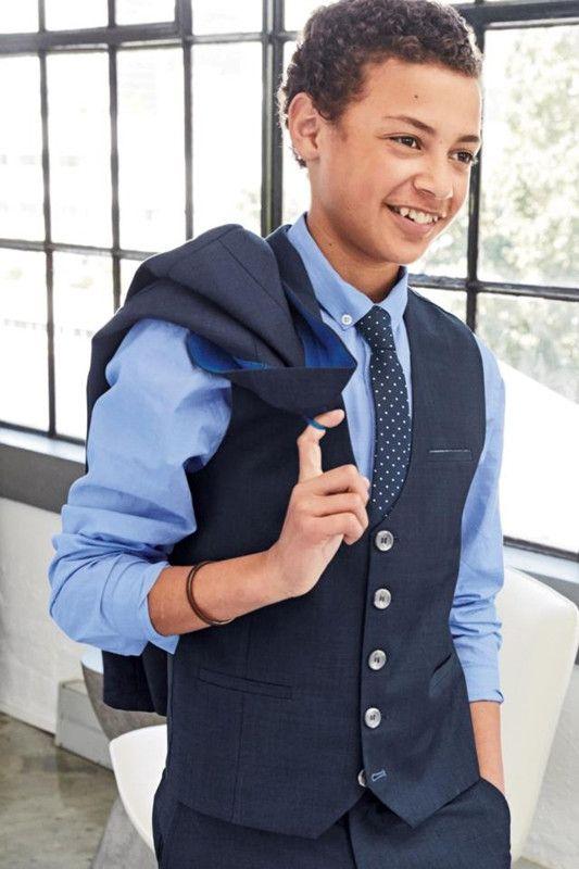 2016 British Children Clothing The New Boy Navy Blue Suit Dress ...