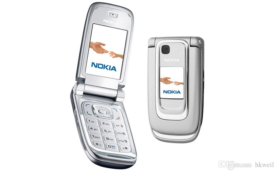 Refurbished NOKIA 6131 Mobile Phone 2.2Inch Screen Quad Band 2G GSM Unlocked Filp Cell Phone