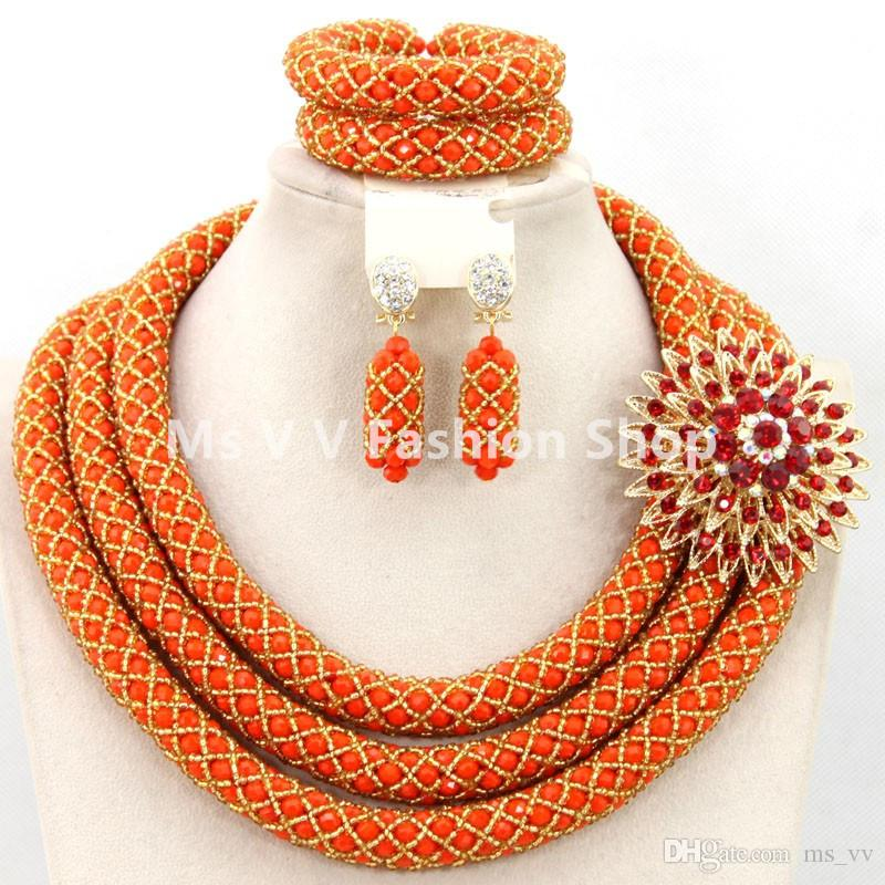 Beaded Necklace And Bracelet Set Sets Costume Jewellery