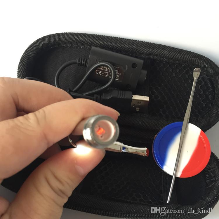 Puffco pro skillet Vaporizer Pen ego bag 650mah Dry Herb Vape Pen Starter Kits Electronic Cigarettes vs Mini Yocan Evolve Plus Kit