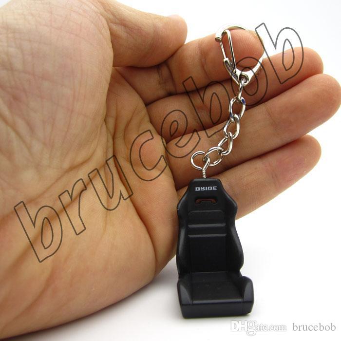 Recaro Braut Stil Typ R Racing Autofahrer Sitz SRD SPG POLE POSITION Schlüsselanhänger JDM 3D Metall Schlüsselanhänger Geschenk