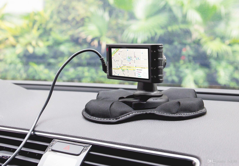 Gps Car Mount: Car Holder GPS Dashboard Mount, Portable Friction Mount