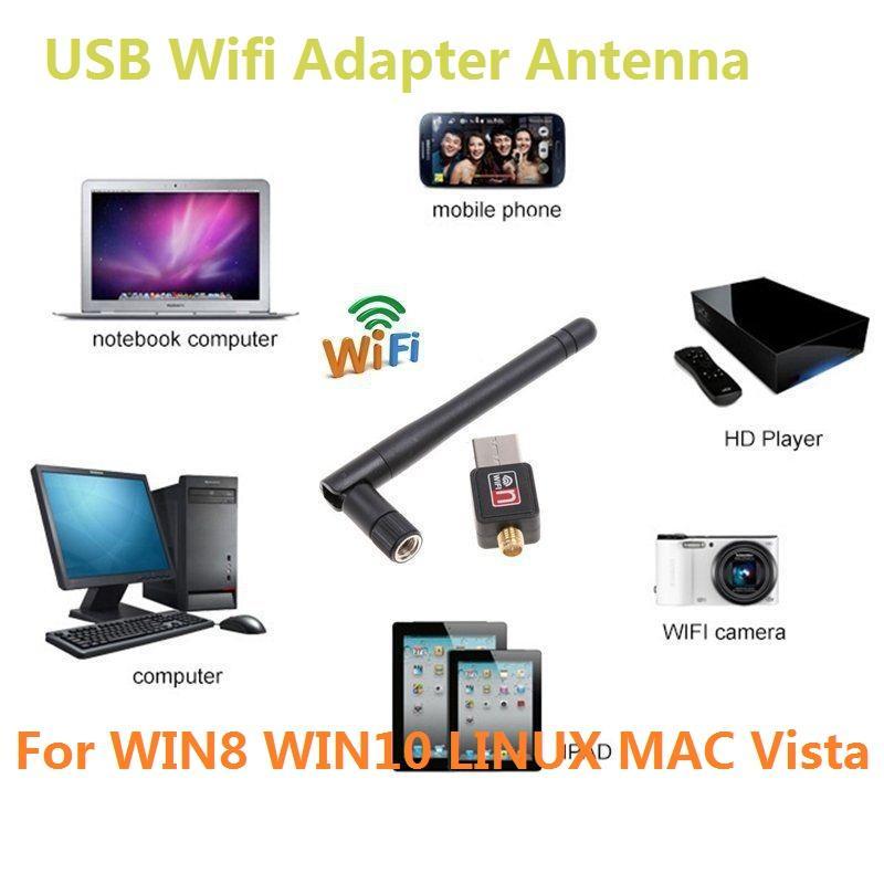Großhandel Usb Wifi Adapter Antenne Mini Desktop Wireless ...