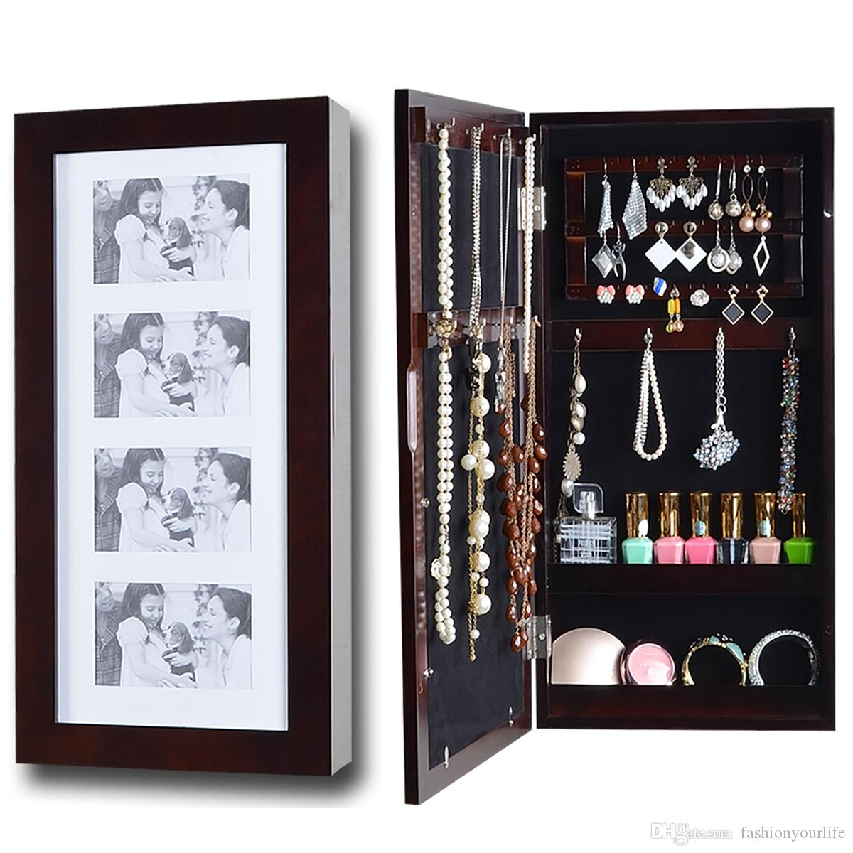 see image larger jewelry large product rings living furniture box wooden bracelets armoire mirror store room cabinet