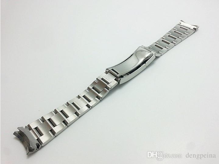 20mm fibbia 16mm NUOVA cinturino cinturino cinturino cinturino cinturino in acciaio inossidabile solido di alta qualità spazzolato orologi Rolex