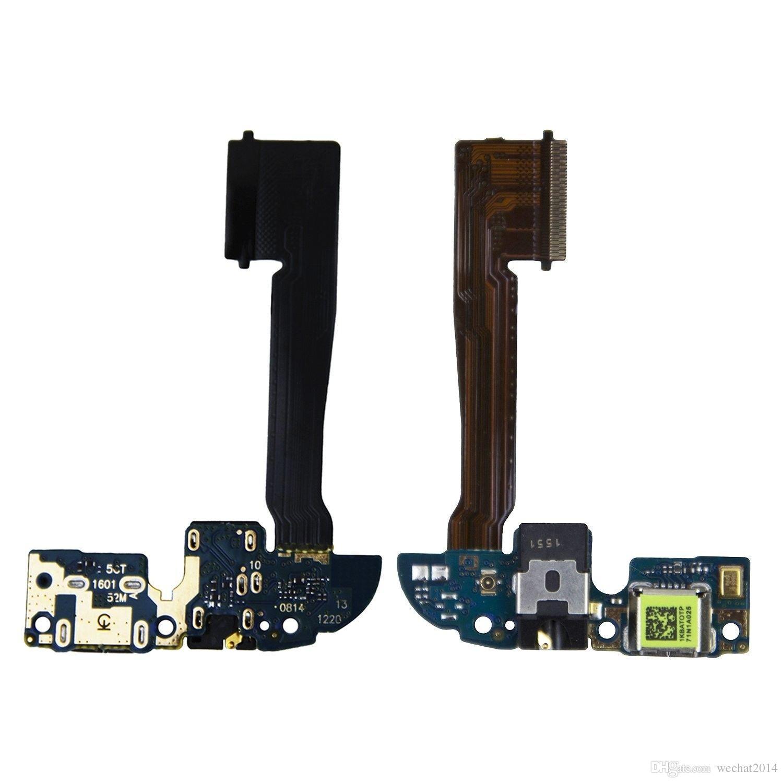 HTC One M8 용 USB 도킹 포트 플렉스 케이블 리본 커넥터 부품을 충전하는 OEM 새 충전기 무료 배송