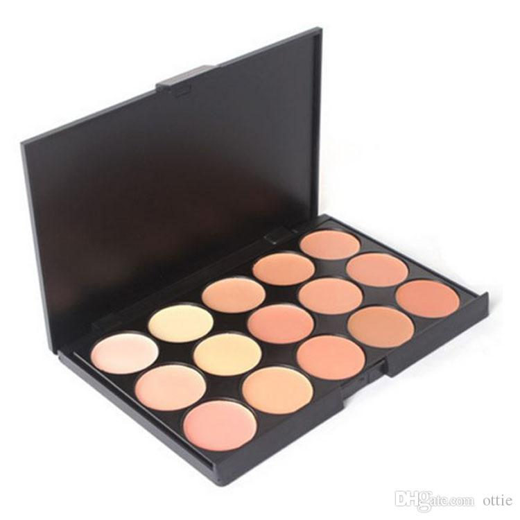 Professional Concealer Foundation Contour Face Cream Makeup Palette Pro Tool for Salon Party Wedding Daily by ottie