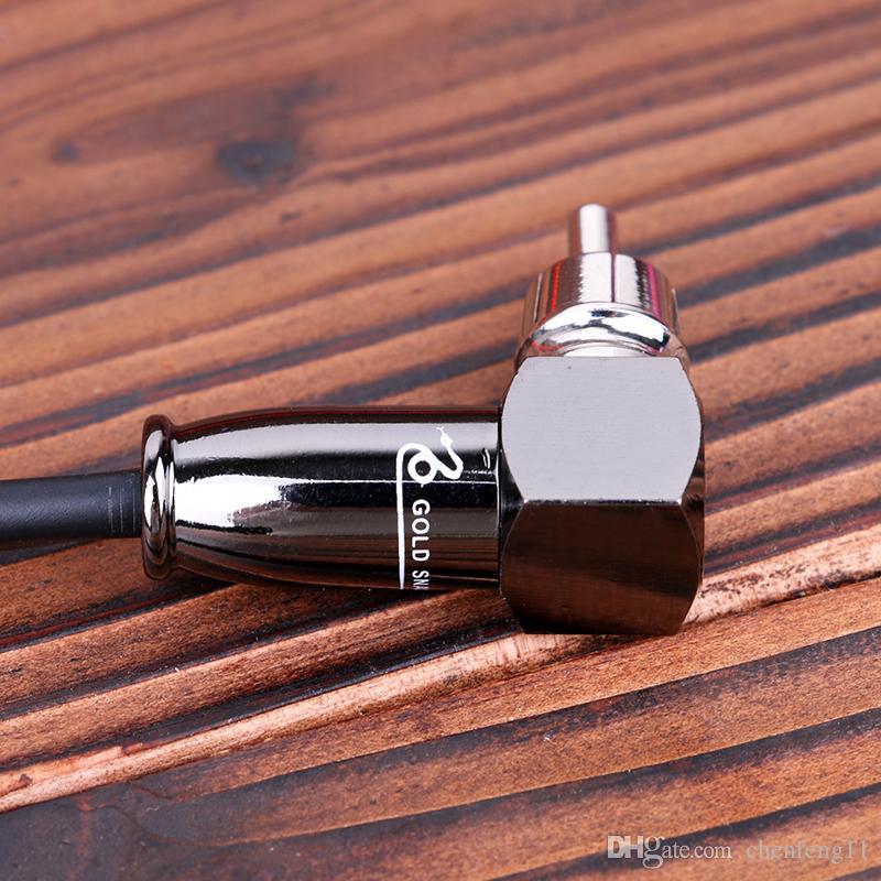 Tattoo RCA Silica Gel Clip cords For Power Supply Machine Guns 1.8 m TPS5120 Wholesale