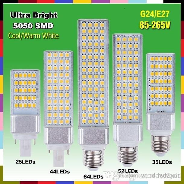 5w 7w 9w 11w 13w E27 G24 Led Corn Lamp Light Bulb Bombillas Light ...