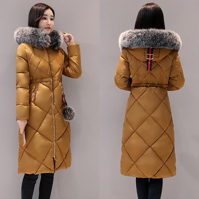 027ba1c4913 Women Down Jacket Clothing Winter Thick Down Coat Winter Long ...