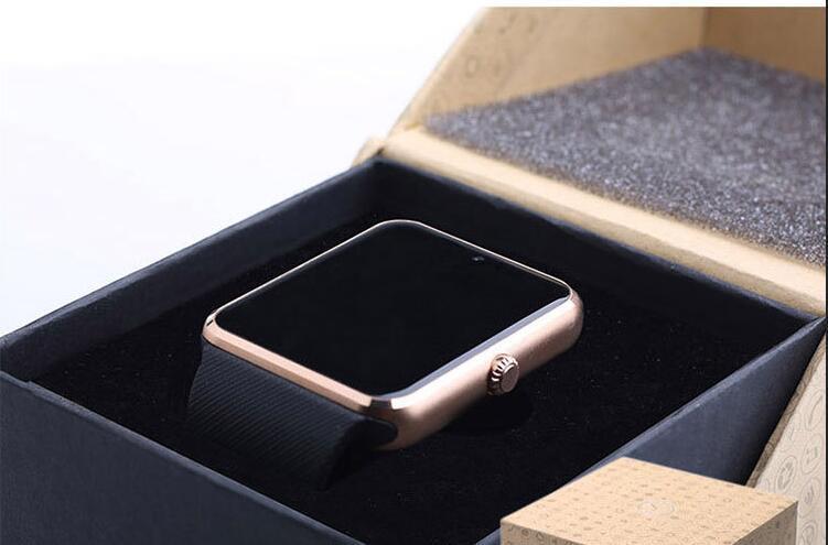 Bluetooth Smart Watch GT08 Smartwatch Armbanduhr Tragbare Geräte für Android-Handy mit Kamera-Unterstützung SIM-Karte