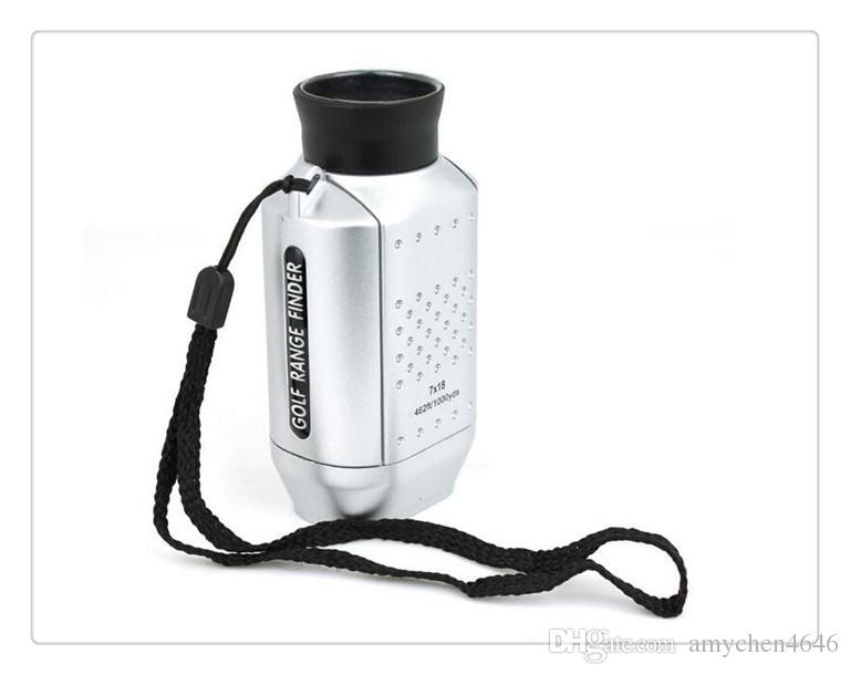 DHL US Portable Mini Digital 7X Golf Scope Range Finder Distance 1000m With Padded Case Newest