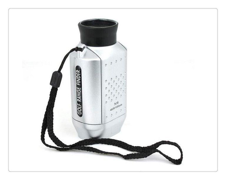 DHL US Portable Mini Digital 7x Golf Scope Range Finder Entfernung 1000m mit gepolstertem Fall neuestes