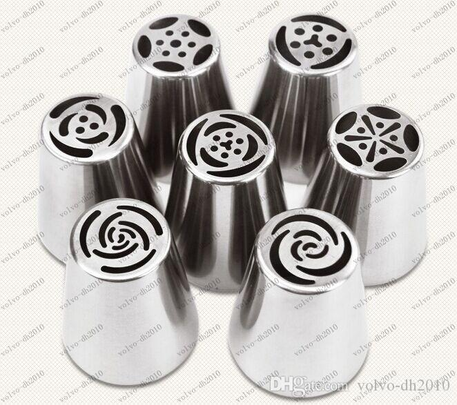 Russian Tulip Nozzle Perfect For Cake Cupcake Decorating Icing Piping Nozzles Russian Rose Nozzles Tips Cooking Cake tools LLFA8889