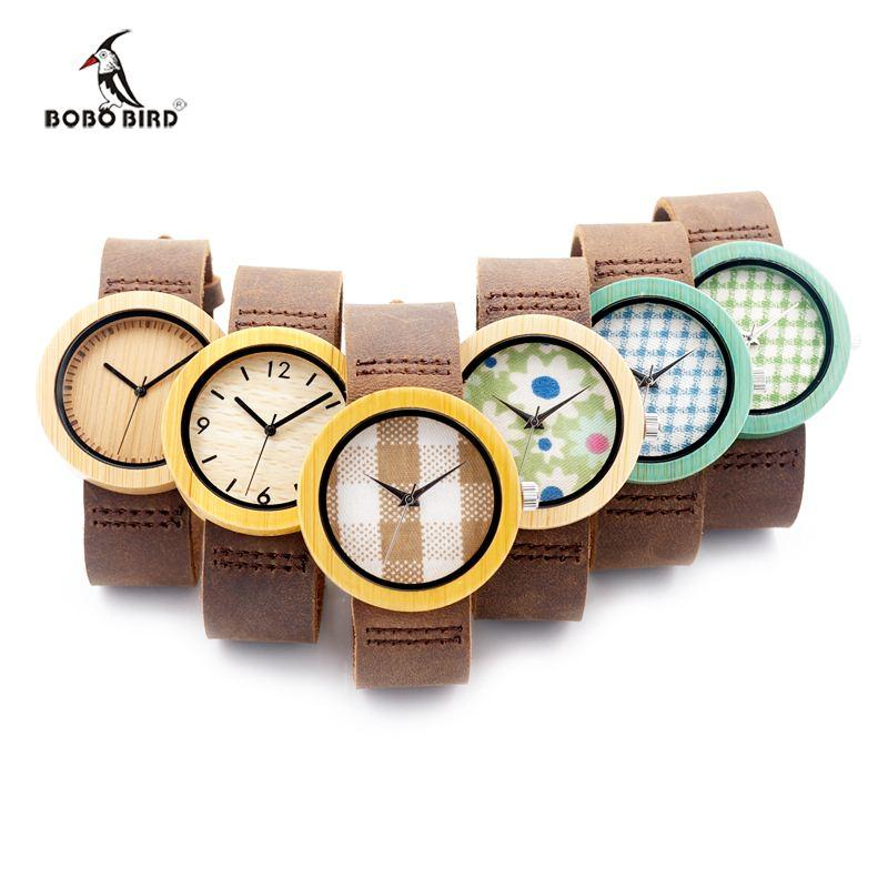 Gift Items For Ladies Part - 22: 6 Kinds 3.7CM Women Watches Wood Watch Female Luxury Fashion Casual Wrist  Clock Ladies Quartz Watch For Women As Gifts Items U003c$18 No Trackin