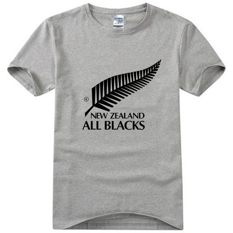 New Men'S T Shirts New Zealand All Blacks Printed T Shirt Boys ...