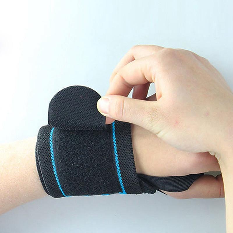 2017 New Health Care Product Adjustable Sport Wristband Wrist Brace Wrap Bandage Gym Strap #