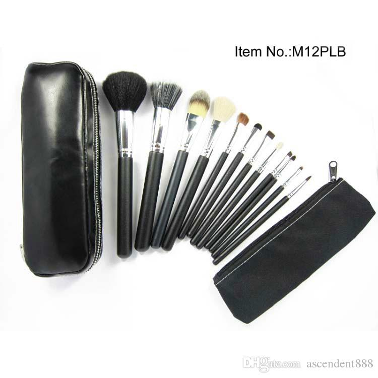 Kit de pinceles de maquillaje Kit de herramientas de pinceles cosméticos = Set de pinceles de maquillaje con bolsa