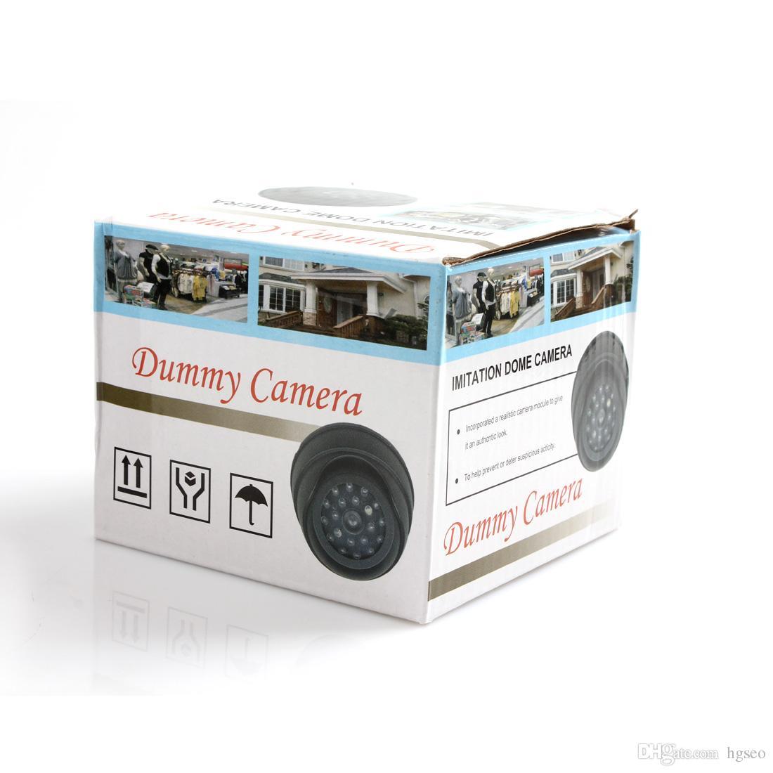 Dummy Fake Simulation Dome Security cctv Camera with False IR LED + Red Activity LED Light CCT_705