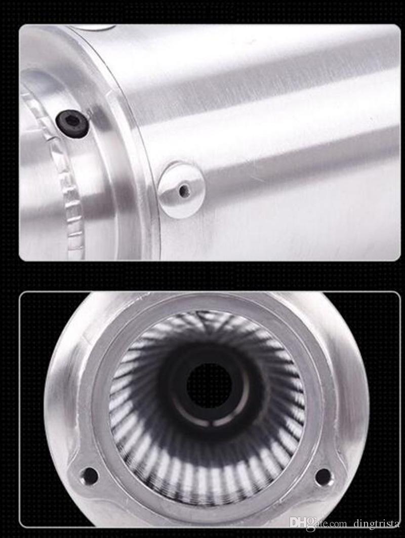 TKOSM Tubo di scarico moto modificato universale marmitta di scarico WRS CB400 CBR400 VFR400 di alta qualità
