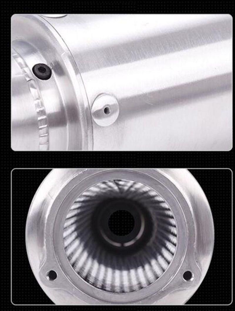 TKOSM Universal Tuyau d'échappement de moto modifié pour silencieux d'échappement WRS CB400 CBR400 VFR400 haute qualité