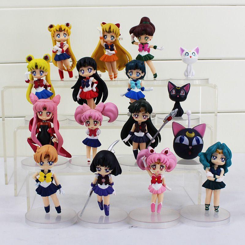 2019 Anime Sailor Moon Figures Tsukino Usagi Sailor Mars