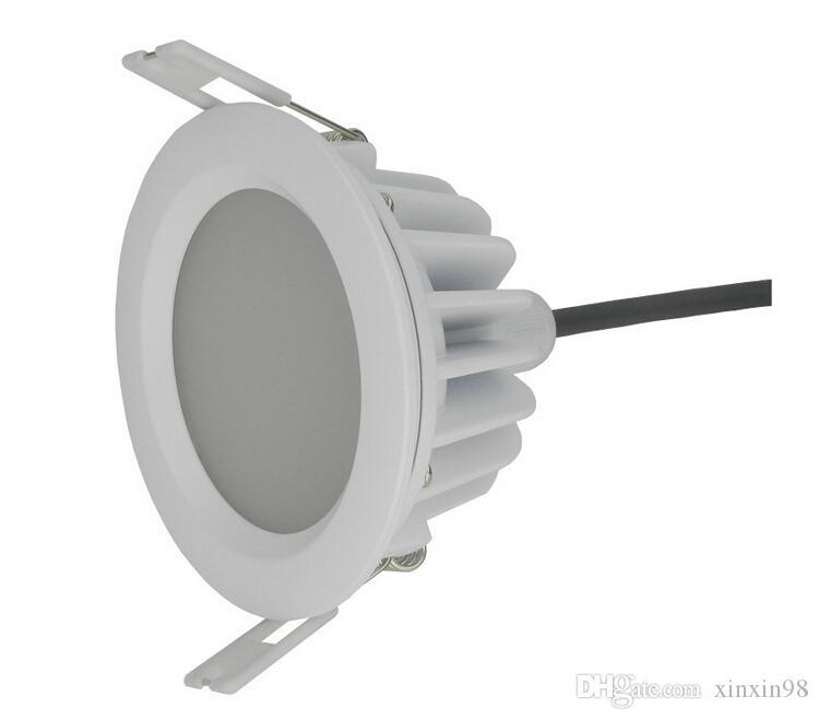 Qualität ultra Helligkeit 15W imprägniern geführtes downlight ip65 runde 15W Dimmable vertiefte geführte Deckenleuchte + imprägniern Fahrer AC85-265V
