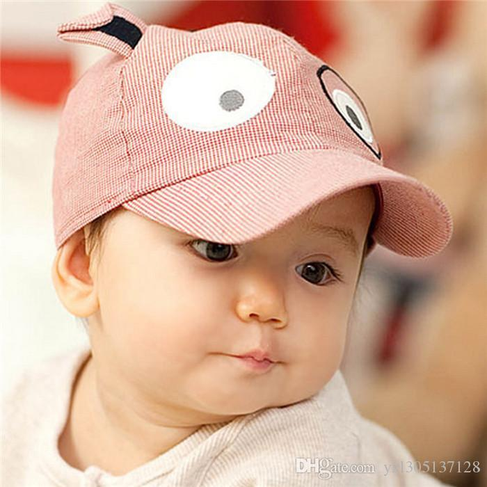 2019 Toddler Baby Boys Girls Cartoon Dog Baseball Hats Children Leisure  Stripe Puppy Ball Caps Kid S Photo Props Hair Accessories From  Yxl305137128 57ddf1f1821