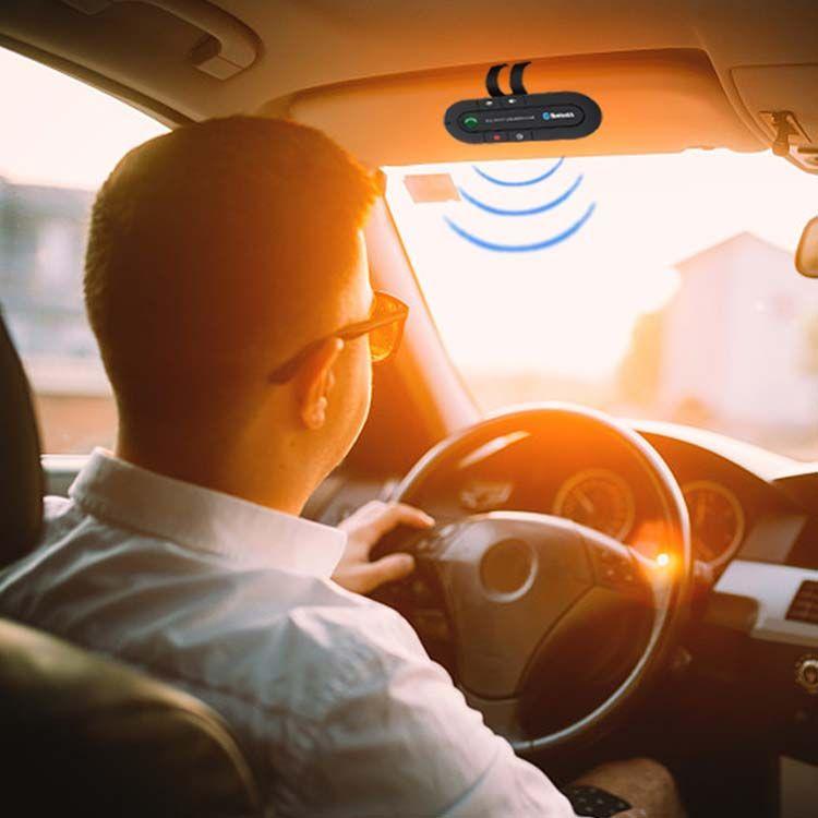 Kit voiture Bluetooth Haut-parleur Lecteur de musique MP3 Transmetteur Bluetooth sans fil Kit voiture mains libres Récepteur Bluetooth Haut-parleur Chargeur de voiture