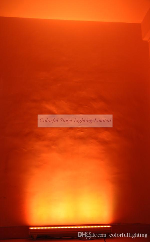 고품질 24x3w RGB 트라이 컬러 3in1 LED 바 벽 세탁기 빛