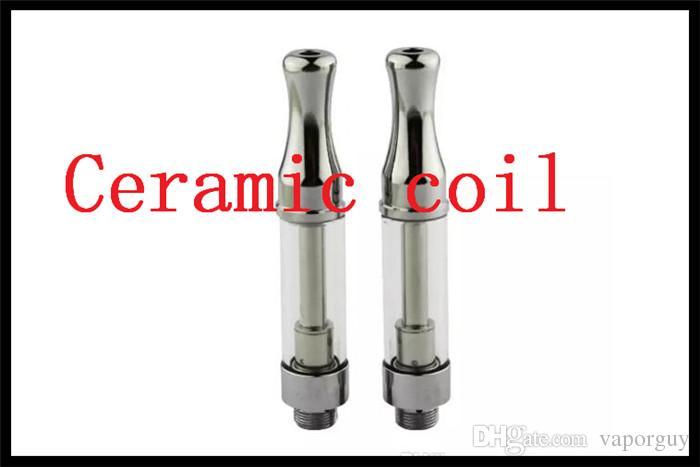 ceramic coil pyrex bud touch vape pen atomizer Eureka vaporizer tank 510  thread hash honey oil co2 vapor cartomizer dab