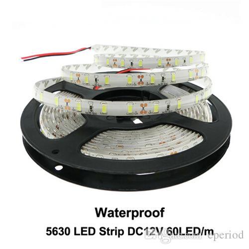 Lights & Lighting Smd5630 Led Strip Light 5730 Ip65 Dc 12v 300led 5m 3000k 6500k White Warmwhite Red Green Blue Super Bright Led Tape Led Lamp Led Lighting