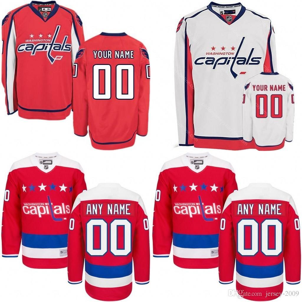 ... new style 2018 2016 customized mens washington capitals custom any name  any number ice hockey jerseyauthentic 96d02717d