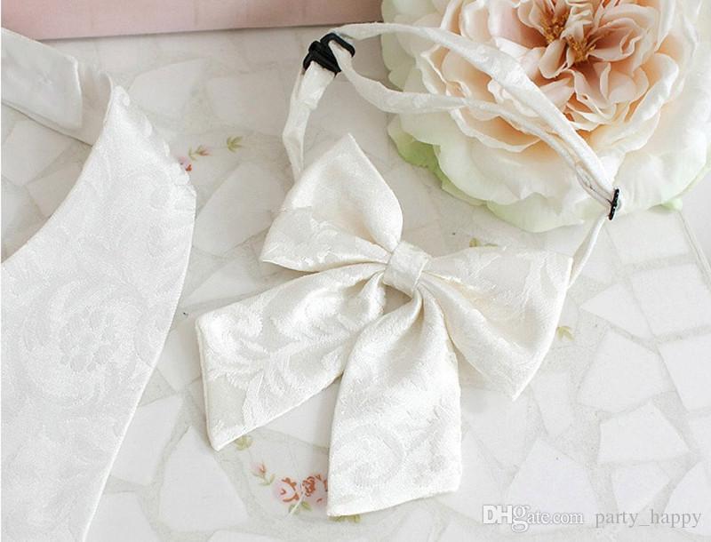 Han Edition Spring Children Dress Suit Baby Vest Men And Women's Children Wear Dark Pattern Ma Jia Page Boy Suits Boys Wedding Suits
