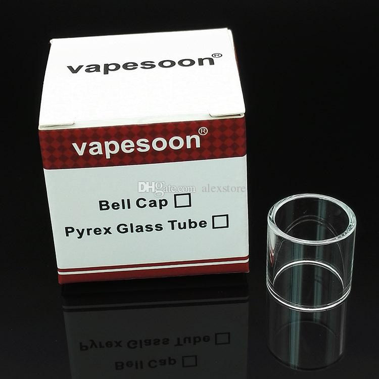 Pyrex Glass Tube Replacement for Melo 3 Nano TFV4 Micro 2.5ml 3.5ml 5ml Subtank mini 2 SUBVOD Mega Arctic V8 Tank Retail Pack