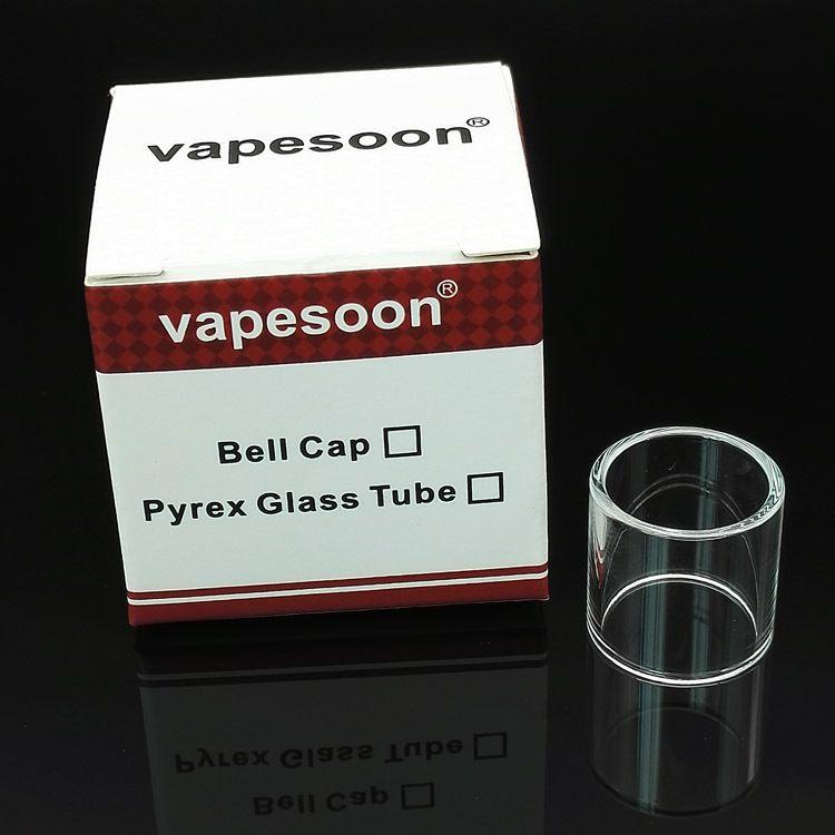 Pyrex Glass Tube Replacement para Subtank Toptank Mini Nano TFV4 Mini Aspire Atlantis Melo 2 Cleito Griffin RTA Tanque Envasado individual DHL
