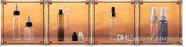 Leere Nadelspitzenflaschen Lange, dünne Tropfenspitze. Kindersichere Schutzkappe 10-ml-Ejuice-Flaschen für Flaschen