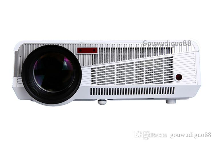 2018 New High Brightness 6500Lumens Digital Video Home Theater Projector Full HD 1080P Video WiFi Android 4.4 HDMI USB LAN LED Projector