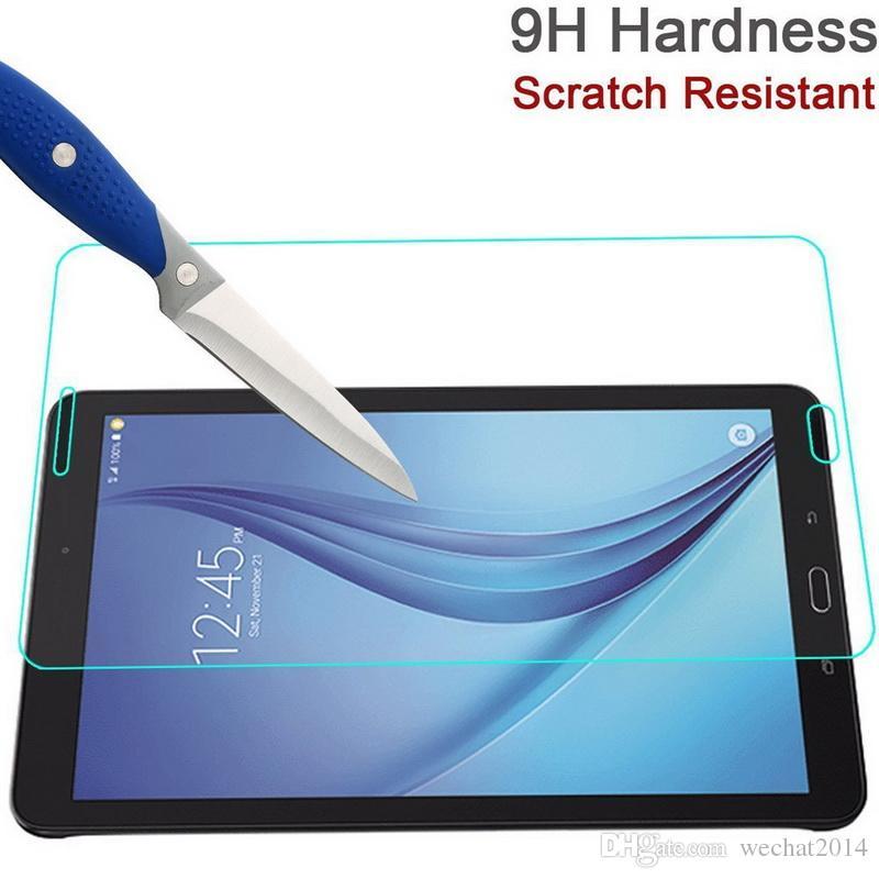 30 ADET Patlamaya dayanıklı 9 H 0.3mm Ekran Koruyucu Temperli Cam Samsung Galaxy Tab 3 Lite VE 7.0 T113 T116 için Hiçbir Paket