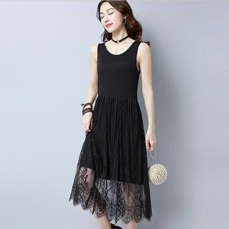 Summer New Style Maxi Long Dress Women Fashion Casual Sleeveless ...