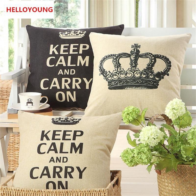 Fantastic Bz055 Luxury Cushion Cover Pillow Case Home Textiles Supplies Lumbar Pillow Crown Decorative Throw Pillows Chair Seat Uwap Interior Chair Design Uwaporg