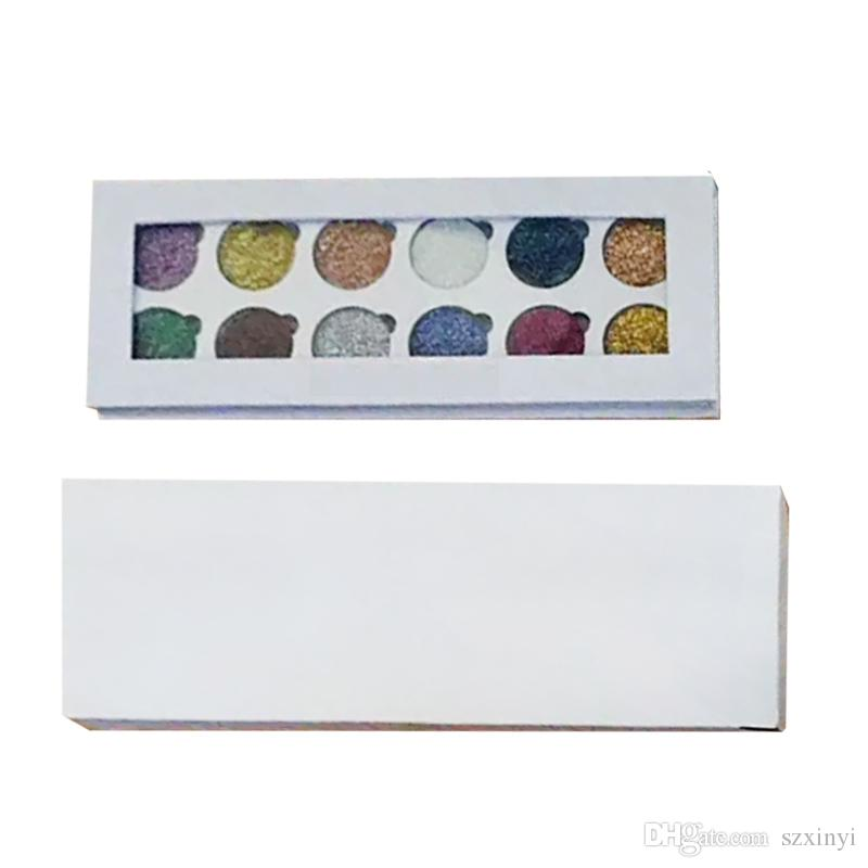 2017 Date Glitter Eyes Fard À Paupières Palette 12 Couleurs Maquillage Ombre À Paupières Palette Glitter DHL expédition