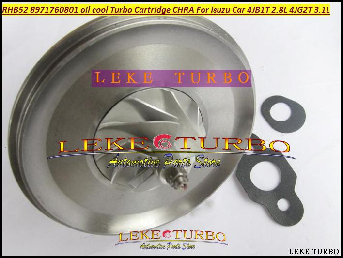 oil cooled Turbocharger Cartridge Turbo Chra Core RHB5 VA190013 VICB 8971760801 For ISUZU Engine 4JB1T 2.8L,4JG2T 3.1L (3)