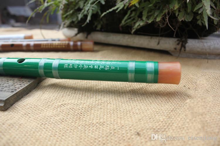 Bambou Chinois Flûte Dizi Traditionnel Main Bois transversal Bambu Flauta Musique Instrument De Musique Pas Xiao C / D / E / F / G Clé 2017